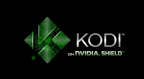 kodi on nvidia shield tv